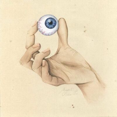 Entre 4 yeux III - Magali Sire - Vue Sur Cours