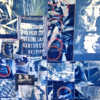 Bleu Sensible Vue Sur Cours