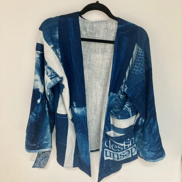 Bleu sensible - Vue Sur Cours