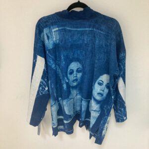 Kimono «Filles» – Bleu Sensible