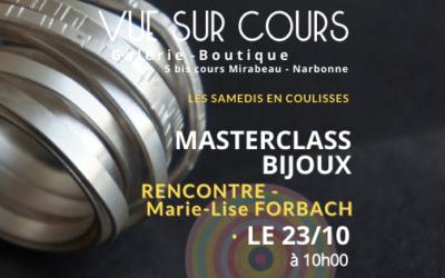 LES SAMEDIS EN COULISSES – RENCONTRE : Marie Lise Forbach – Gasser